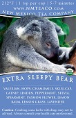 Extra Sleepy Bear | Organic