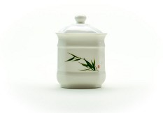Bamboo Leaf Canister