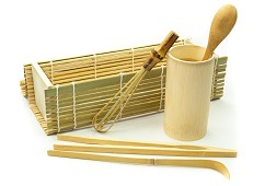 Bamboo Matcha Tea Tools