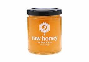 Black Tea | 12oz Raw Honey