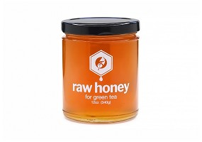 Green Tea | 12oz Raw Honey