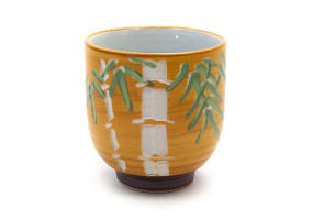 Carved Bamboo | Japanese Cup