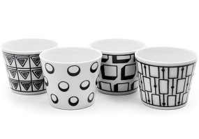 Grafik B/W | Cup Set