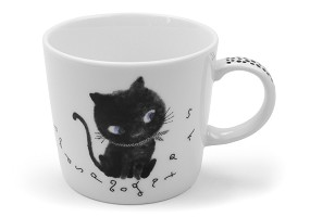 Black Cat Let's Play | Mug