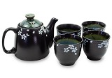 Black Daisy | Tea Set