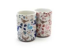 Spring Squirrel & Rabbit | Cup Set