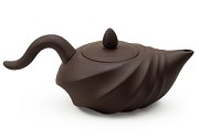 Brown | Shell Yixing Teapot