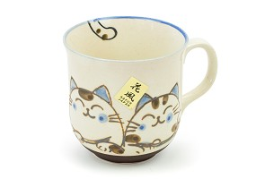 Blue Ears Calico | Cat Mug