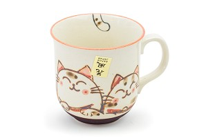 Pink Ears Calico | Cat Mug