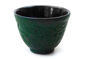 Green Bamboo | Cast Iron Cup
