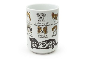 Favorite Dogs | Japanese Ceramic Cup