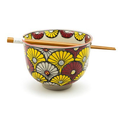 Deco Flowers | Chopstick Bowl
