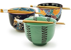 Chopstick Bowls | Multiple Designs