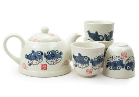 Puffer Fish | Tea Set