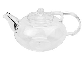 #832 Glass Tea Pot