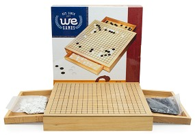 Wooden Go Set w/Drawers 12