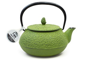 Spring Grass Pine Needle | 22oz Cast Iron Tetsubin Teapot