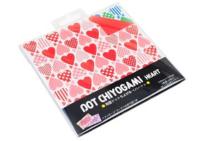 Heart Dot | Origami Paper