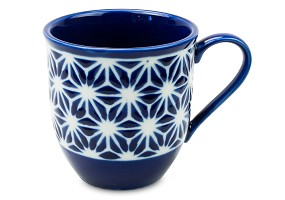 Lapis Hemp Leaf | Mug