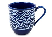 Lapis Waves Leaf | Mug