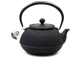 Large Black Hobnail | 44oz Cast Iron Tetsubin Teapot