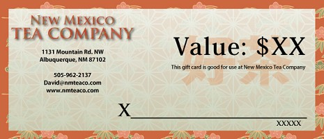Gift Certificate for Website