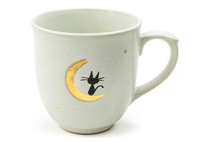 Cat on a Moonlit Night | Mug