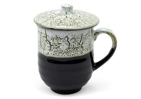 Mug with Lid | Black Frost