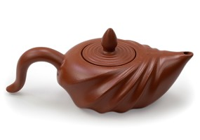 Orange | Shell Yixing Teapot