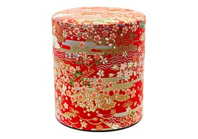 Red 150g | Paper Tea Canister