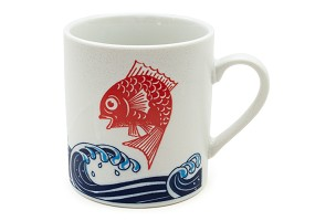 Red Sea Bream/Waves | Mug