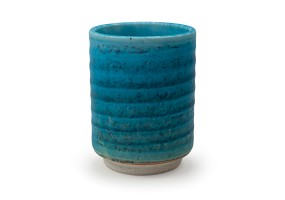 Ribbed Turquoise | Cup