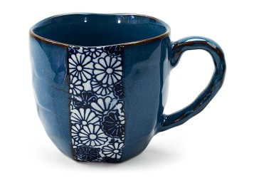 Namako Blue Mums | Rock Mug 11oz