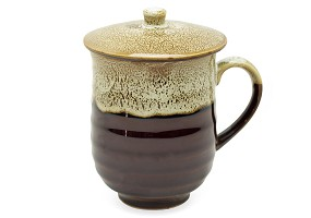 Sequoia Brown | Mug with Lid