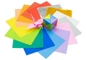 Mini Solid Colored | Origami Paper