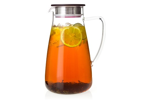 Flask Glass Iced Tea Jug | 64oz