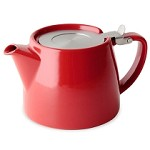 Stump Teapot 18 oz | RED