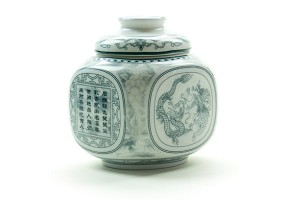 Dragon | Porcelain Canister