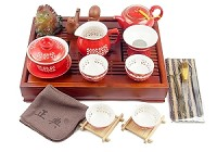Gong Fu Cha Set - Full | Red