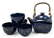 Dragonfly on Blue | Tea Set