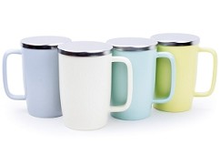 DEW Brew-in-Mug with Infuser | Matte Colors