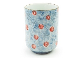 Soft Blue Flowers | Cup